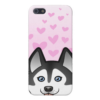 Siberian Husky / Alaskan Malamute Love iPhone 5 Cases