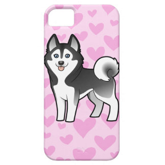 Siberian Husky / Alaskan Malamute Love iPhone 5 Covers