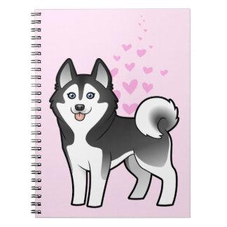 Siberian Husky / Alaskan Malamute Love Notebooks