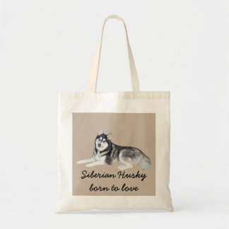 Siberian Husky Beautiful Tote Bag