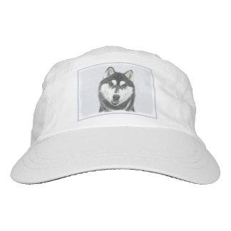 Siberian Husky (Black and White) Hat