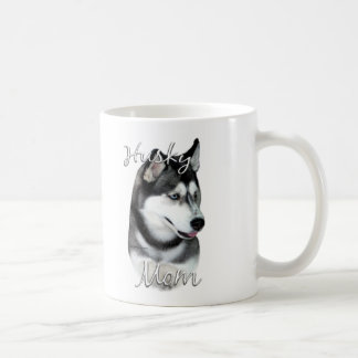 Siberian Husky (blk) Mom 2 Coffee Mug