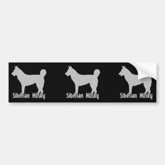 Siberian Husky Bumper Sticker