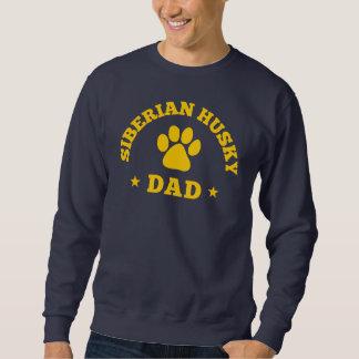 Siberian Husky Dad Sweatshirt