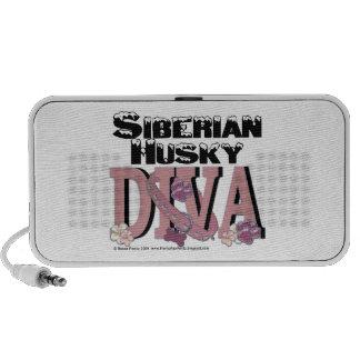 Siberian Husky DIVA iPhone Speakers