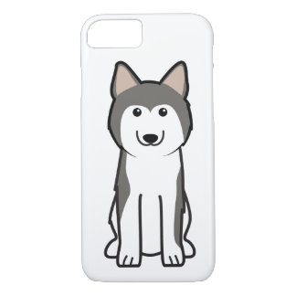 Siberian Husky Dog Cartoon iPhone 8/7 Case
