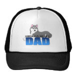 Siberian Husky Dog Dad Hats