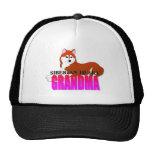 Siberian Husky Dog Grandma Hats