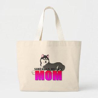 Siberian Husky Dog Mom Bags
