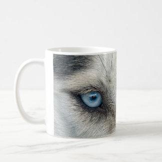 Siberian Husky eyes Mug