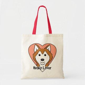 Siberian Husky Lover Tote Bag