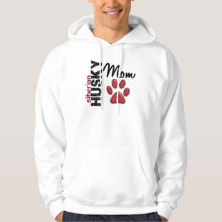 Siberian Husky Mom 2 Hoodie
