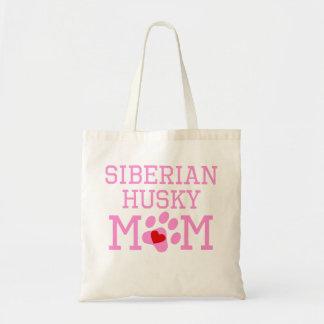 Siberian Husky Mom Budget Tote Bag