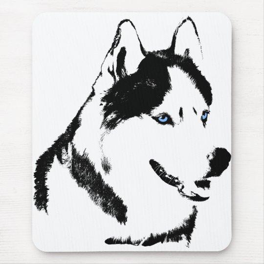 Siberian Husky Mousepad Gifts Malamute Sled Dogs