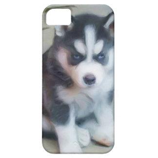 Siberian husky pup iPhone 5 covers