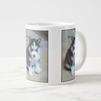Siberian Husky puppy Large Coffee Mug