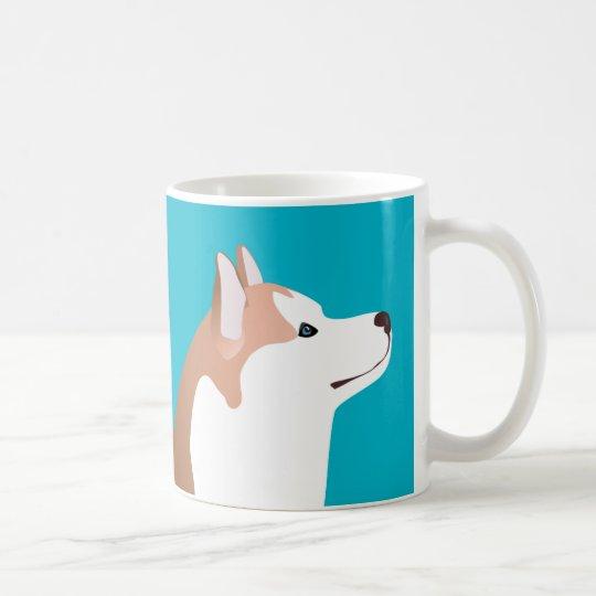 Siberian Husky - Red - Breed Template Design