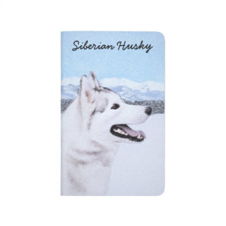 Siberian Husky (Silver and White) Journal