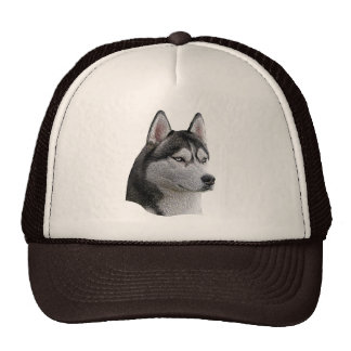 Siberian Husky - Stylized Image - Add Your Text Cap