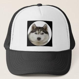 """Siberian Husky"" Trucker Hat"