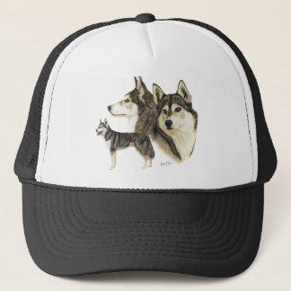Siberian Husky Trucker Hat