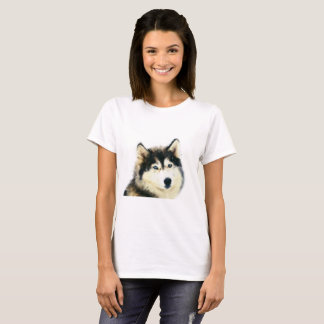Siberian Husky Woman's T-shirt