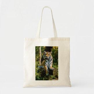 Siberian Tiger Amur Tiger Panthera Tigris Altaica Canvas Bags
