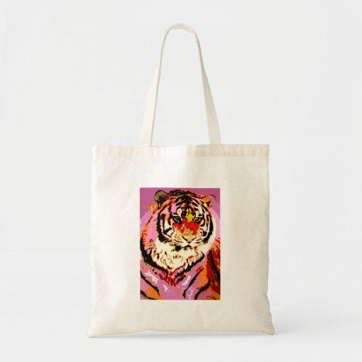 Siberian Tiger Canvas Bags