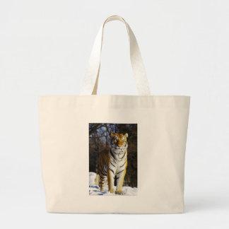Siberian Tiger Tote Bags