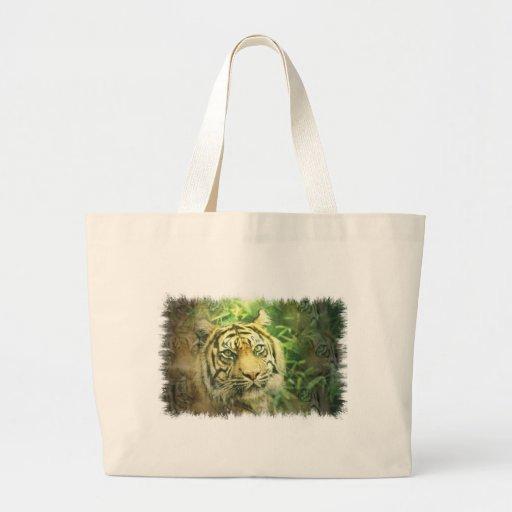 Siberian Tiger Canvas Bag