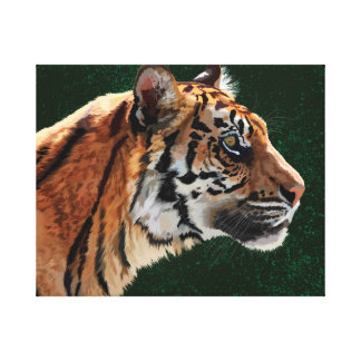 Siberian tiger canvas print