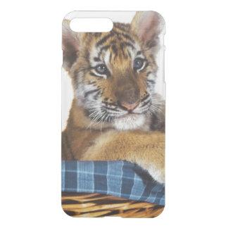 Siberian Tiger Cub in basket iPhone 7 Plus Case