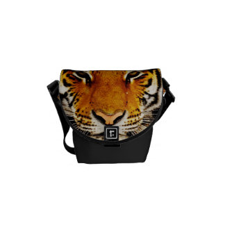 Siberian Tiger Mini Messenger Bag