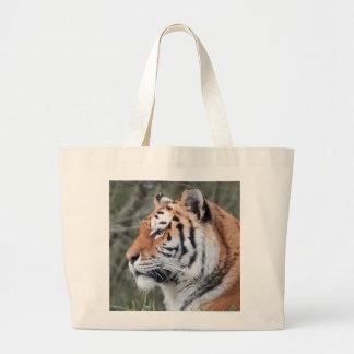Siberian Tiger Portrait Bags
