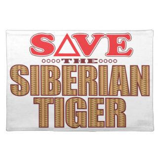 Siberian Tiger Save Placemat