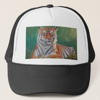 siberian tiger trucker hat