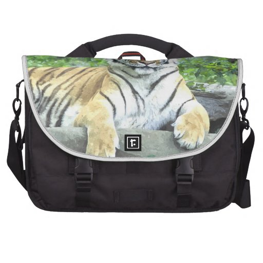 Siberian Tiger Watercolor Laptop Bag!
