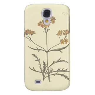 Siberian Valerian Botanical Illustration Galaxy S4 Case