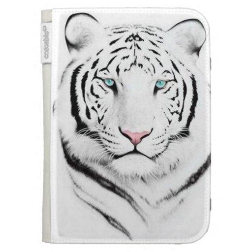 Siberian White Tiger Case For Kindle
