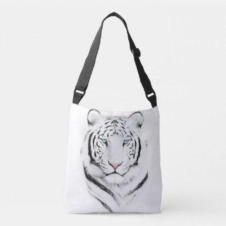 Siberian White Tiger Crossbody Bag