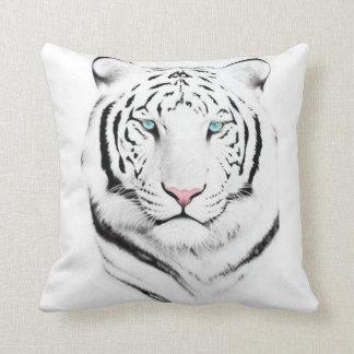 Siberian White Tiger Pillow