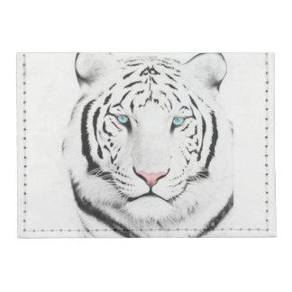 Siberian White Tiger Tyvek® Card Wallet