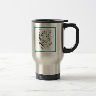 Siberian White Tiger Coffee Mugs