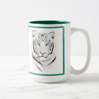 Siberian White Tiger Mug