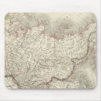 Siberie, Russie d'Asie - Russia and Siberia Mouse Mat