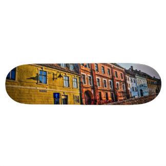 Sibiu hdr architecture custom skate board