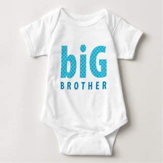 SIBLINGS COLLECTION - big brother {blue} Baby Bodysuit
