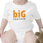 SIBLINGS COLLECTION - big brother {orange} Bodysuit