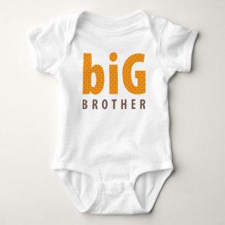 SIBLINGS COLLECTION - big brother {orange} Tee Shirts