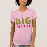 SIBLINGS COLLECTION - big sister {lime} T-Shirt